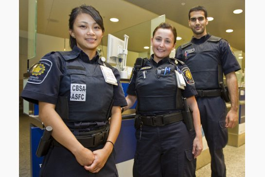 canada Border Services Officer